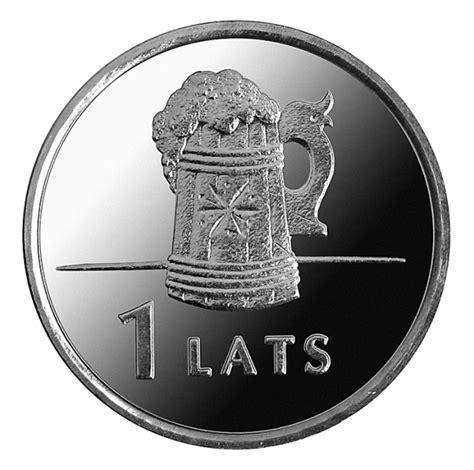 1 Lats (Beer mug) - Latvia - Numista