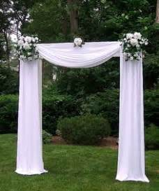 wedding backdrop using pvc pipe 1000 ideas about wedding arch decorations on