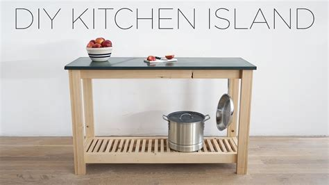 DIY Kitchen Island with Slate Countertops   YouTube