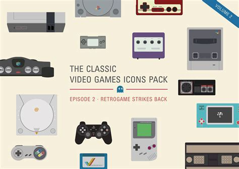 Video Games Icons Pack Vol2 ~ Icons On Creative Market
