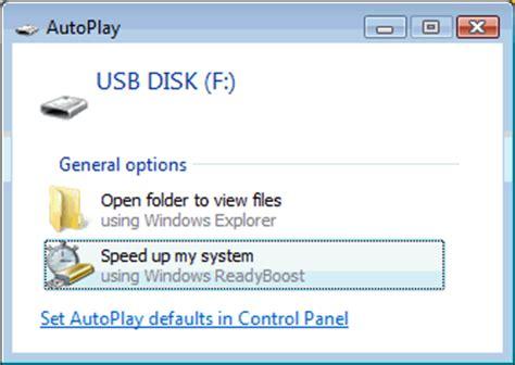 How To Use Usb Device As Ram Windows 7810 Readyboost