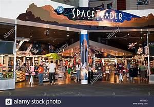 Shop at NASA Space Center Houston Texas USA Stock Photo ...