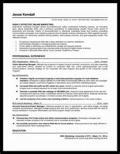 marketing manager resume templatealexa document
