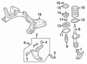 Mazda Protege Engine Cradle  Protege  W  O Sport Suspension