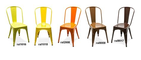 chaise de cuisine confortable chaise a tolix marron chaise design tolix