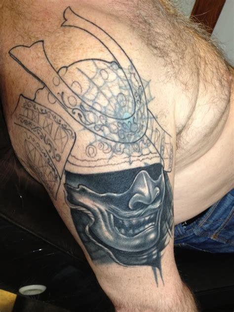 samurai mask tattoos designs ideas  meaning tattoos