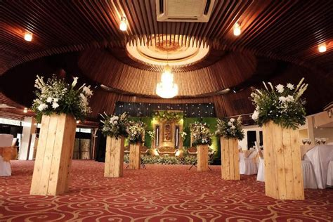 review wedding venue semi outdoor  jakarta