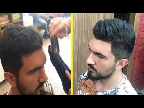 Turkish Barber  Hair Wash And Blow Dry Youtube