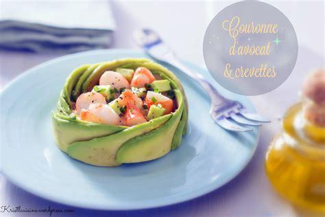 cuisine avocat couronne d avocat crevettes krist 39 l cuisine