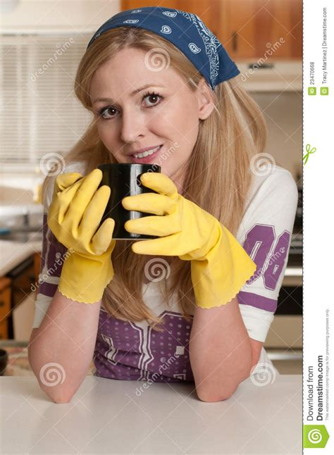 house wife royalty  stock  image