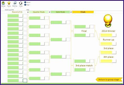 tournament template excel exceltemplates exceltemplates