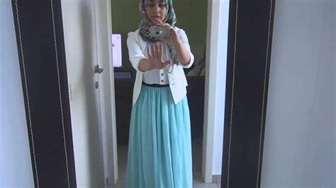 hijab ootd maxi skirt youtube