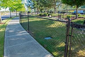 Pet fence and exercise area in dupont ajb landscaping for Dog safe fence