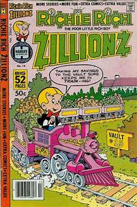 Richie Rich Zillionz Covers