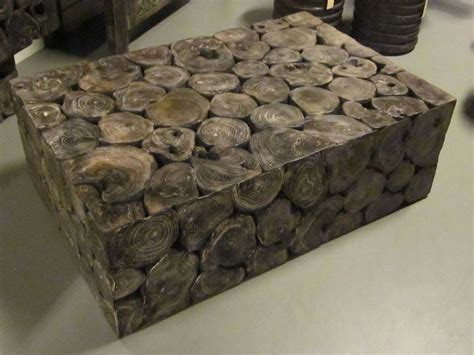 wood slice coffee table wood slice coffee or console table indonesian
