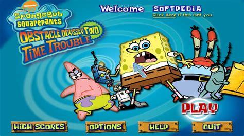 Spongebob Squarepants Obstacle Odyssey 2 Gameplay