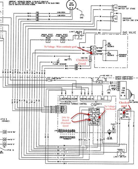 Trane Furnace Wiring Schematic Diagrams