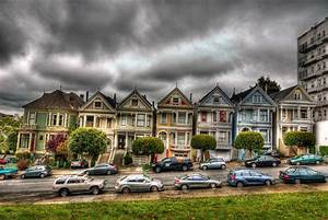 Painted Ladies (Postcard Row) #1 San Francisco Computer