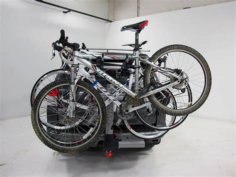 toyota rav4 bike rack toyota rav4 yakima swingdaddy 4 bike rack 2 quot hitches