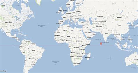 Carte Du Monde Avec Maldives by Maldives Carte Et Image Satellite