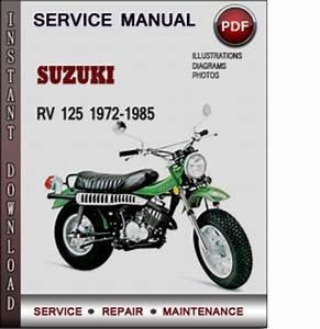Suzuki Rv 125 1972