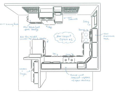 kitchen floor plan ideas small kitchen layout 8060