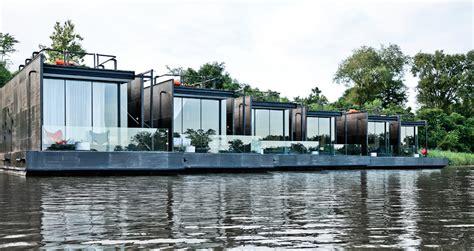 Hotel Flotante Catamaran by Floating Resort Inhabitat Green Design Innovation