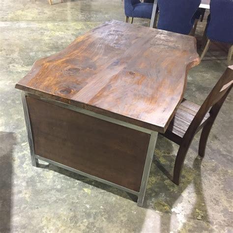 live edge enclosed desk check out unique custom desks