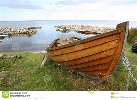 Row En Boat by Wooden Rowboat Stock Photo Image Of Wooden Fishermen