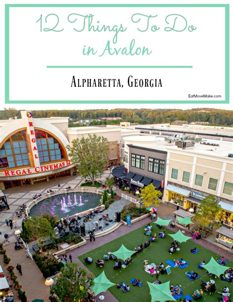 alpharetta avalon ga things georgia eatmovemake entertainment places eat dining shopping