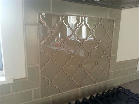 Glazzio Tiles Versailles Series by Glazzio Arabesque Glass Tile