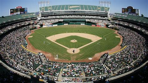 oco coliseum seating chart pictures directions  history oakland athletics espn