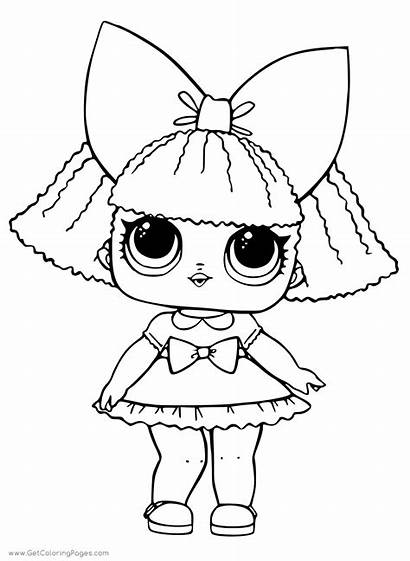 Lol Doll Pages Coloring Surprise Printable Dolls