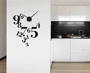 Wanduhren Wohnzimmer Modern : wanduhr uhr wandtattoo zifferblatt modern w760 wohnzimmer ~ Michelbontemps.com Haus und Dekorationen