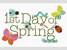 1st day of spring clipart Clipart Collection First day