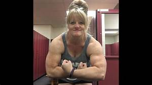 Female Bodybuilding Big Muscles Posing