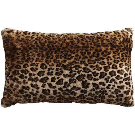 animal print pillows affordable leopard print pillows popsugar home