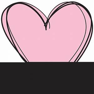 Cute Heart Outline Clipart (64+)