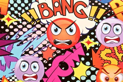 Grafiti Emoji Nama : Spandex World Fabric Catalog