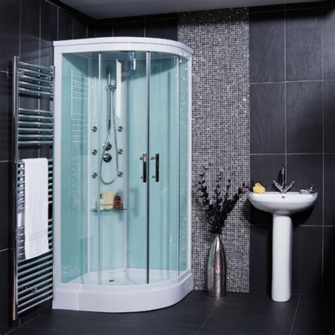aqualine hydromassage shower cabin   body jets