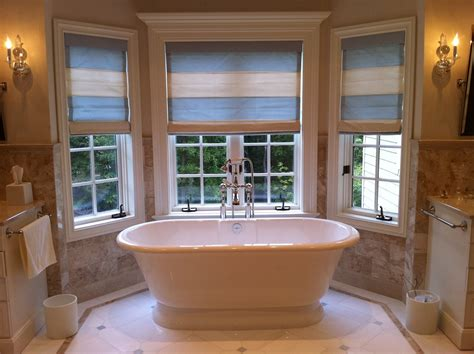 ideas for bathroom windows would you install a freestanding bath