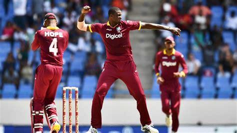 india  west indies  full cricket score  odi