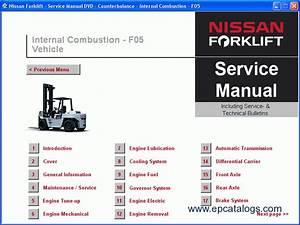 Nissan Forklift Service Manuals 2009 Download