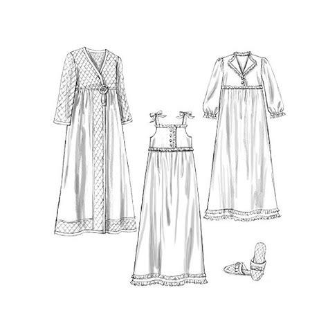 patron robe de chambre femme modèle couture robe de chambre 8