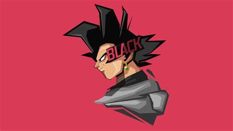 wallpaper goku black minimal art   anime