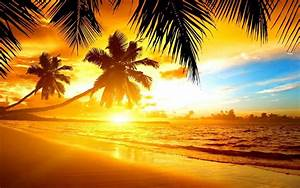 Tropical Island Sunset Wallpapers - Wallpaper Cave