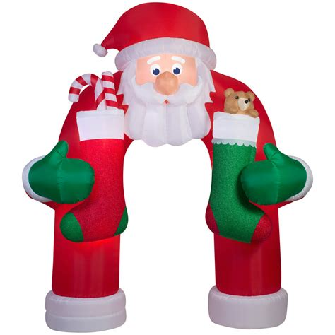 shop holiday living 12 ft x 4 92 ft animatronic lighted