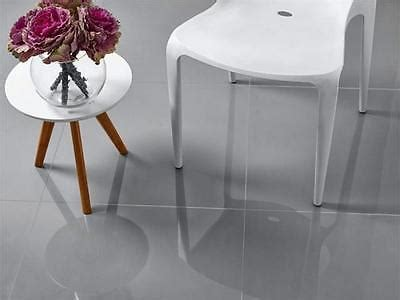 600X600 Lounge Light Grey Polished   Branded Tiles