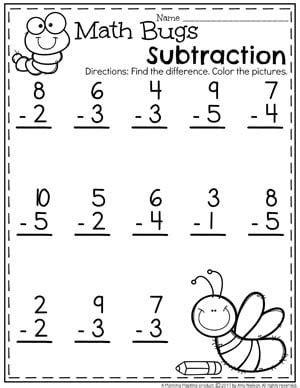 subtraction worksheets matem 225 tica subtraction