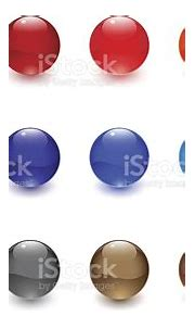 Glossy Spheres Stock Illustration - Download Image Now ...